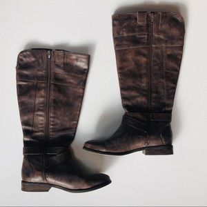 Mark Fisher Brown Soft Leather Boots